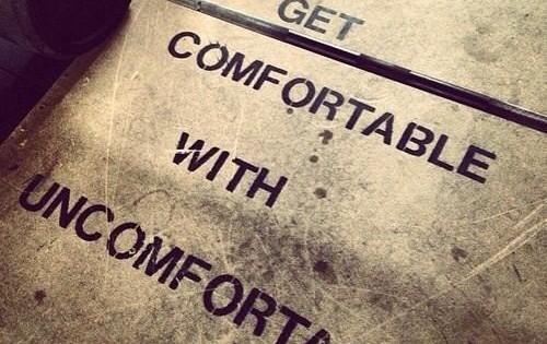 geuncomfortbale